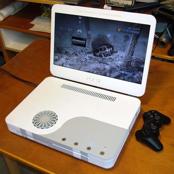 ben heck ps3 slim laptop