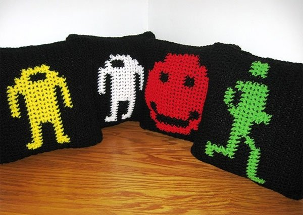 berzerk pillows