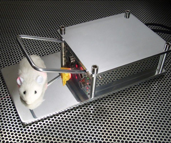 Guy Actually Builds a Better Mousetrap