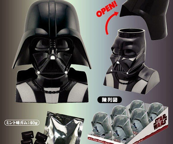 Darth Vader Mint Gum: Chews the Dark Side