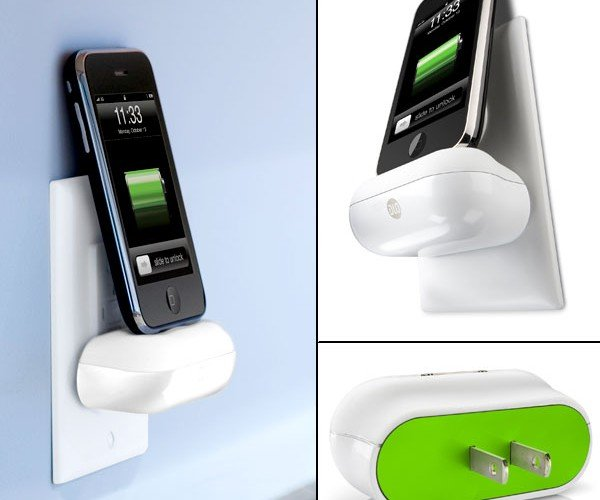 Walldock iPhone & iPod Charger Joins the Fight Against Cable Clutter