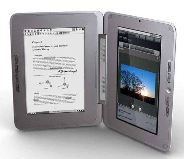 entourage edge android e-book netbook