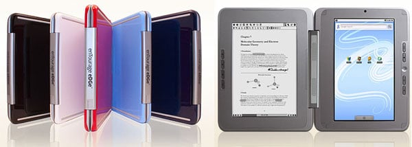 entourage edge android e-book netbook