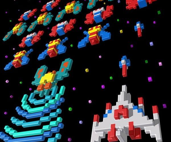 3d Video Game Pixel Art by Sevens Heaven is 8-Bit Heaven