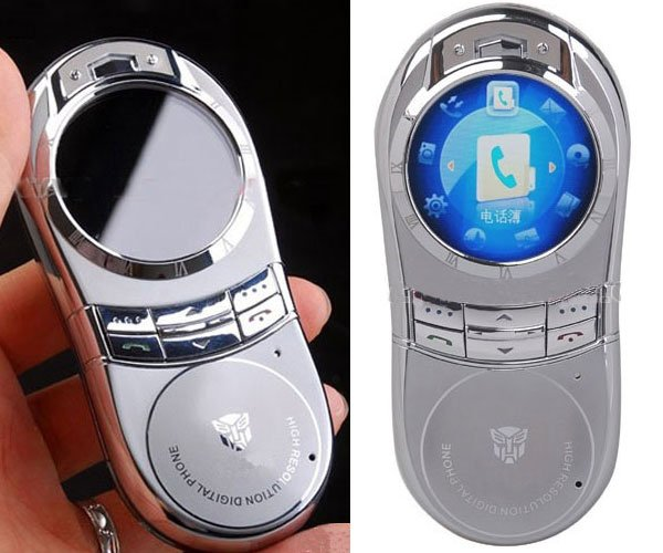 Kingk N99 Phone has a Round Screen and Random Logos
