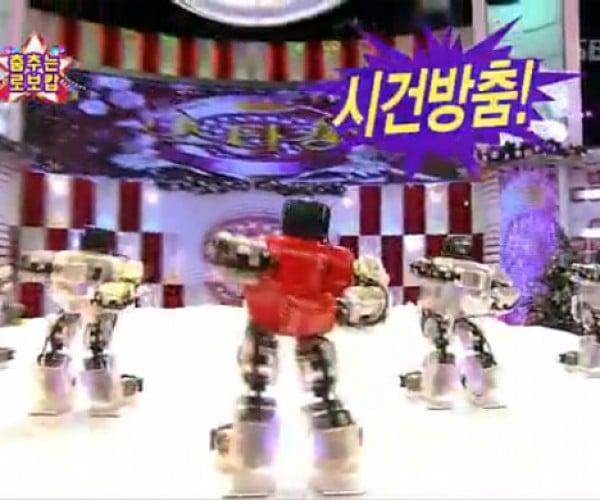 Merry Robot Christmas From Korea