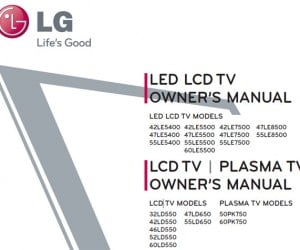 LG 2010 Plasma, LCD and LED Tv Line Leaked on Fcc Website