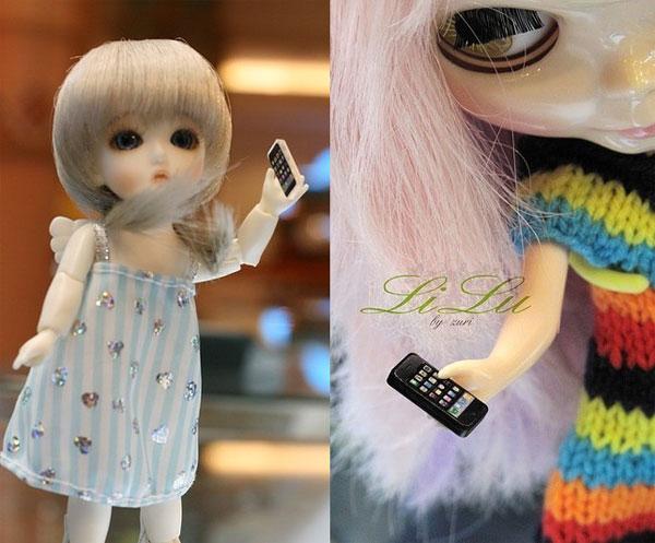 li lu miniature iphone