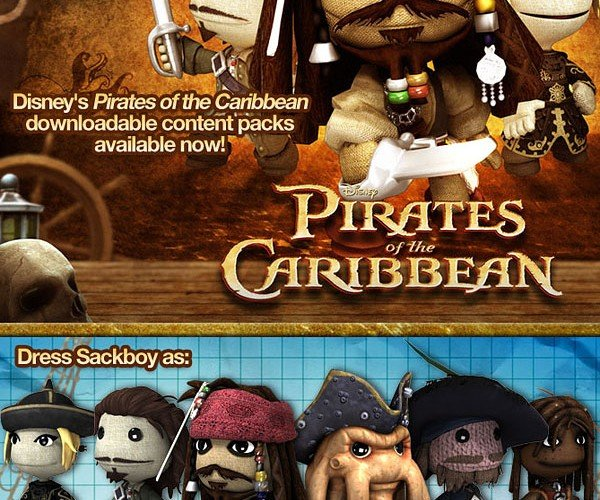 Little Big Pirates of the Carribean: Yo-Ho, Yo-Ho, a Sackboy'S Life for Me!