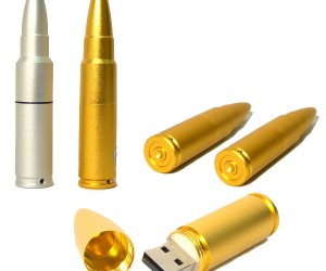 Bullet Flash Drives: Ready, Aim, Store!