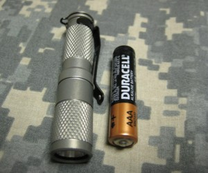 Maratac Aaa Flashlight: Heavy on the Light, Light on the Heavy