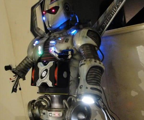 Morphius Robot Case Mod Freaks Me Out