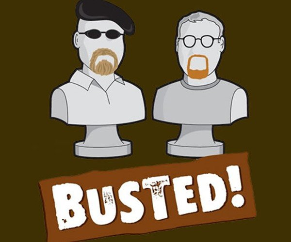 Mythbusters' Adam and Jamie Get Busted!