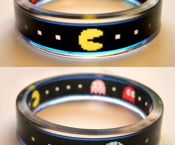 Pac-Man Bracelet Chomps Its Way Around Your Wrist