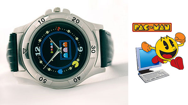 pac man pellet watch