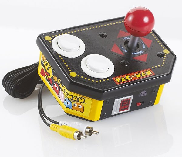 Tv Games Plug Into : Pac man tv game gets another update from jakks technabob