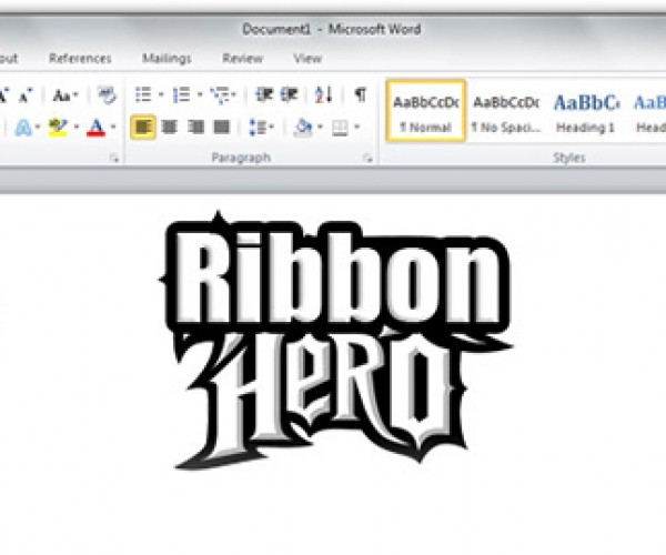 Ribbon Hero: a Game About Using Ms Office? Go Clippy, Go!