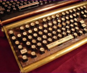 Datamancer's Sojourner Keyboard Looks Antique, Priced Like an Antique