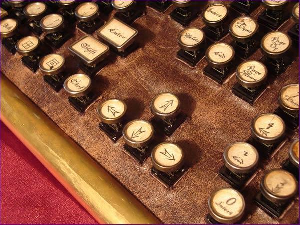 datamancer steampunk keyboard