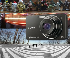 Sony Wx1 Digi-Cam Snaps Panoramic Photos for a Good Cause