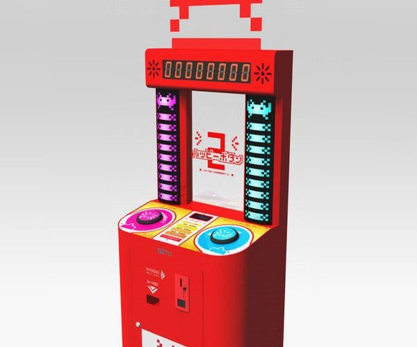 Mysterious Space Invaders Arcade Machine Surfaces