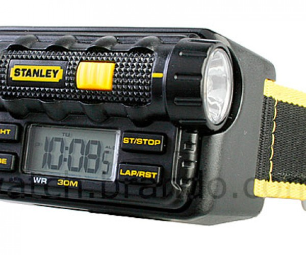 Stanley Flashlight Watch is Overkill for Most Wrists