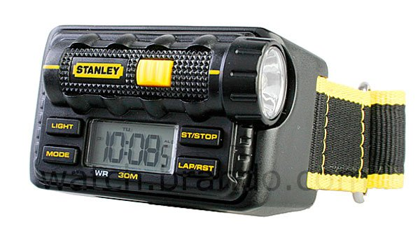 stanley flashlight watch
