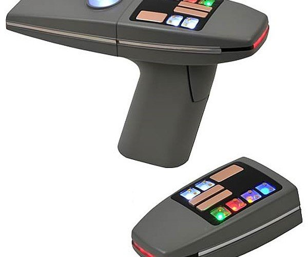 Star Trek Motion Picture Phaser Replica: Set Credit Cards to Buy