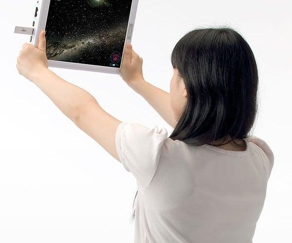 Stellarwindow Turns Tablet Pcs Into a Virtual Planetarium