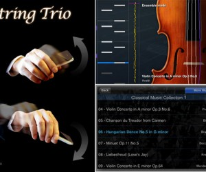 String Trio Turns Your iPhone Into an Air Violin