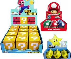 Super Mario Candy Powers Up the Glycemic Index
