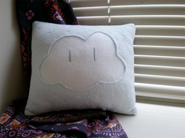 Super Mario Bros. Cloud Pillow