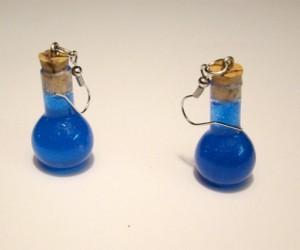In Case of Danger: Final Fantasy Potion Earrings