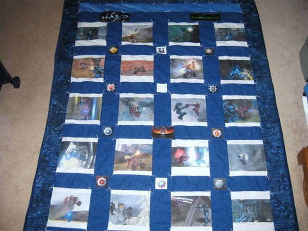 halo 3 quilt