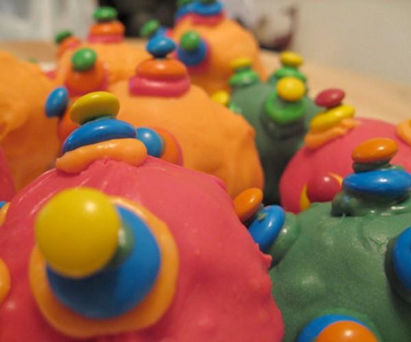 Katamari Cake Balls Are Messy and Delicious