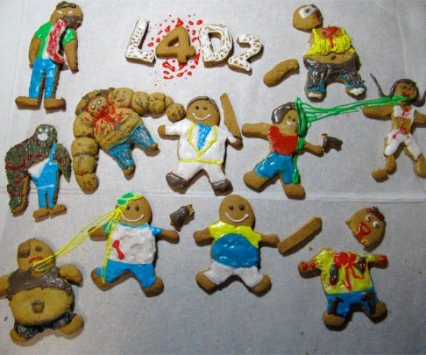 Ooey-Gooey Left 4 Dead 2 Gingerbread Zombies