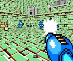 Mega Man + Doom = Adorable Deathmatch