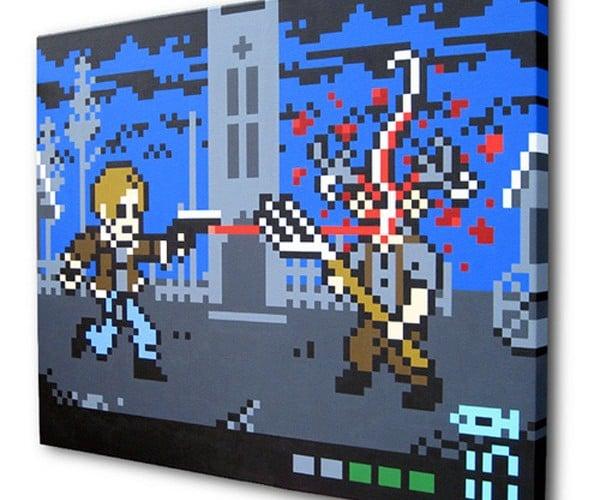8-Bit Resident Evil Brings the Pixelated Gore