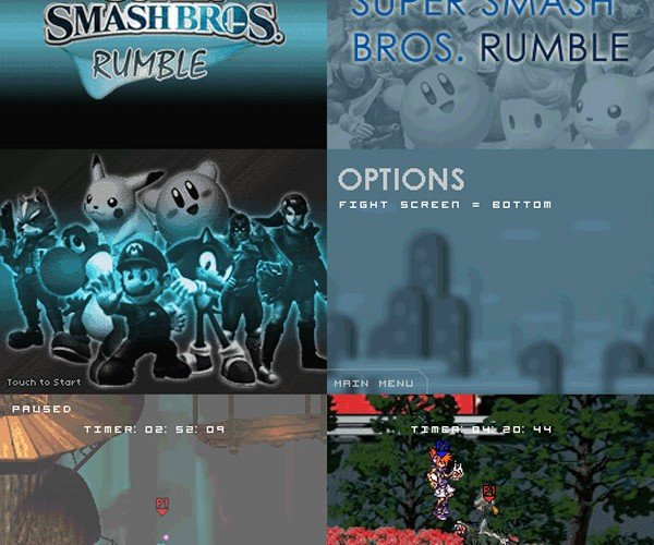 Get It While You Can: Homebrew Smash Bros for the Ds