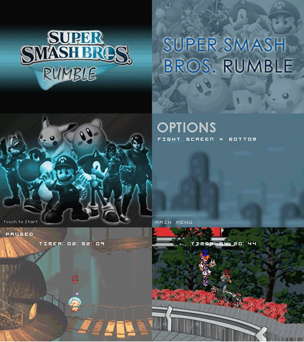 ssb rumble homebrew nintendo ds