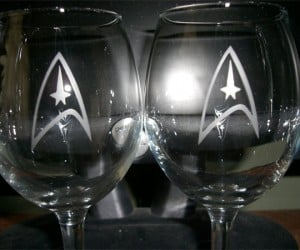 Imbibe Me Up: Star Trek Wine Glasses