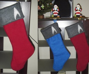 Star Trek Stockings for All the Good Federation Girls and Boys