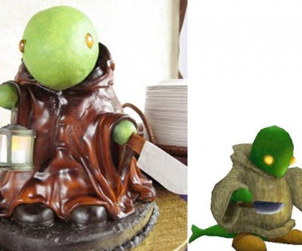Tonberry Cake Provides Inevitable, Edible Doom