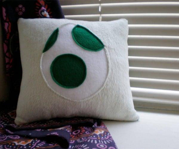 Super Mario Bros. Yoshi Pillow