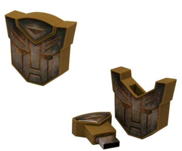 Transformers 2 Official Flash Drive Release: Yay, an Autobot Logo Flash Drive!