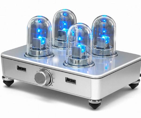 USB Speaker Looks Like a Vacuum Tube Amp, but Sure Doesn'T Sound Like One