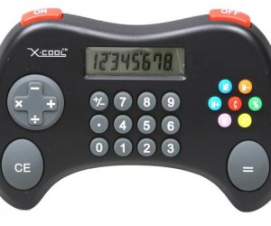 X-Cool Calculator Looks Like a Game Controller, Plays No Games