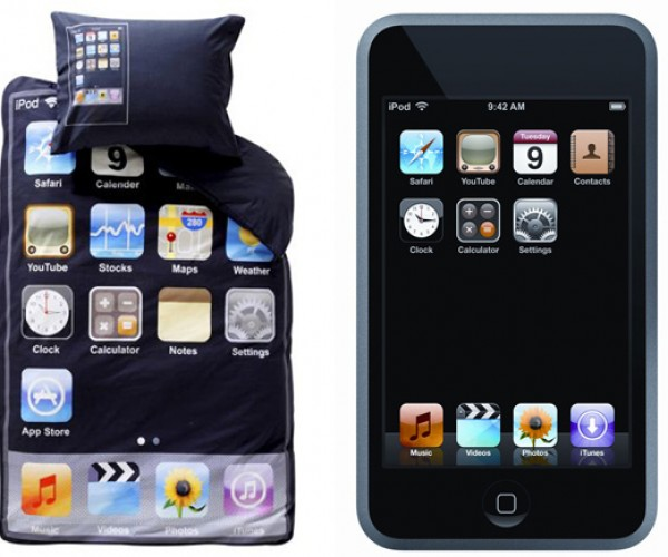 Take Your iPod to Sleep With This iPod Touch Bedding