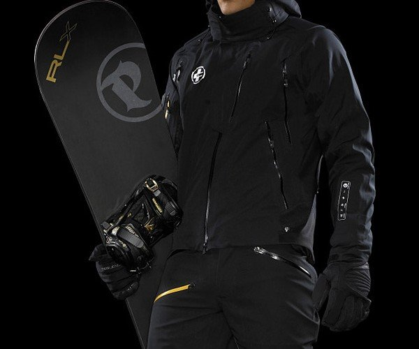 Wired Ralph Lauren Aero Type Ski Jacket has iPod and Bluetooth Controls