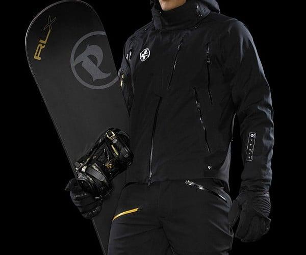Wired Ralph Lauren Aero Type Ski Jacket has iPod and Bluetooth Controls